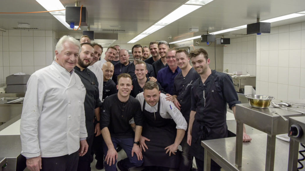 Youngsters kochen mit Andreas Caminada